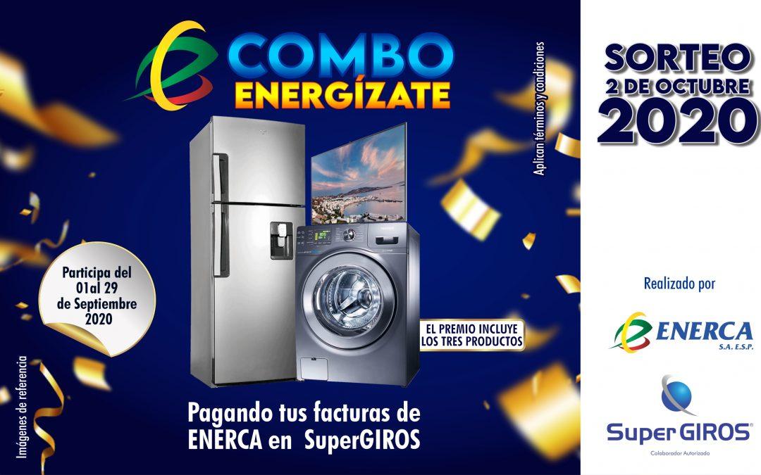 Combo Energízate con Enerca y SuperGIROS